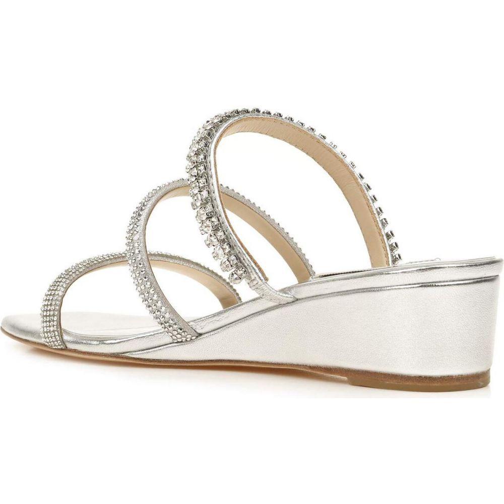 バッジェリー ミシュカ Badgley Mischka レディース サンダル・ミュール シューズ・靴【Zofia】Silver