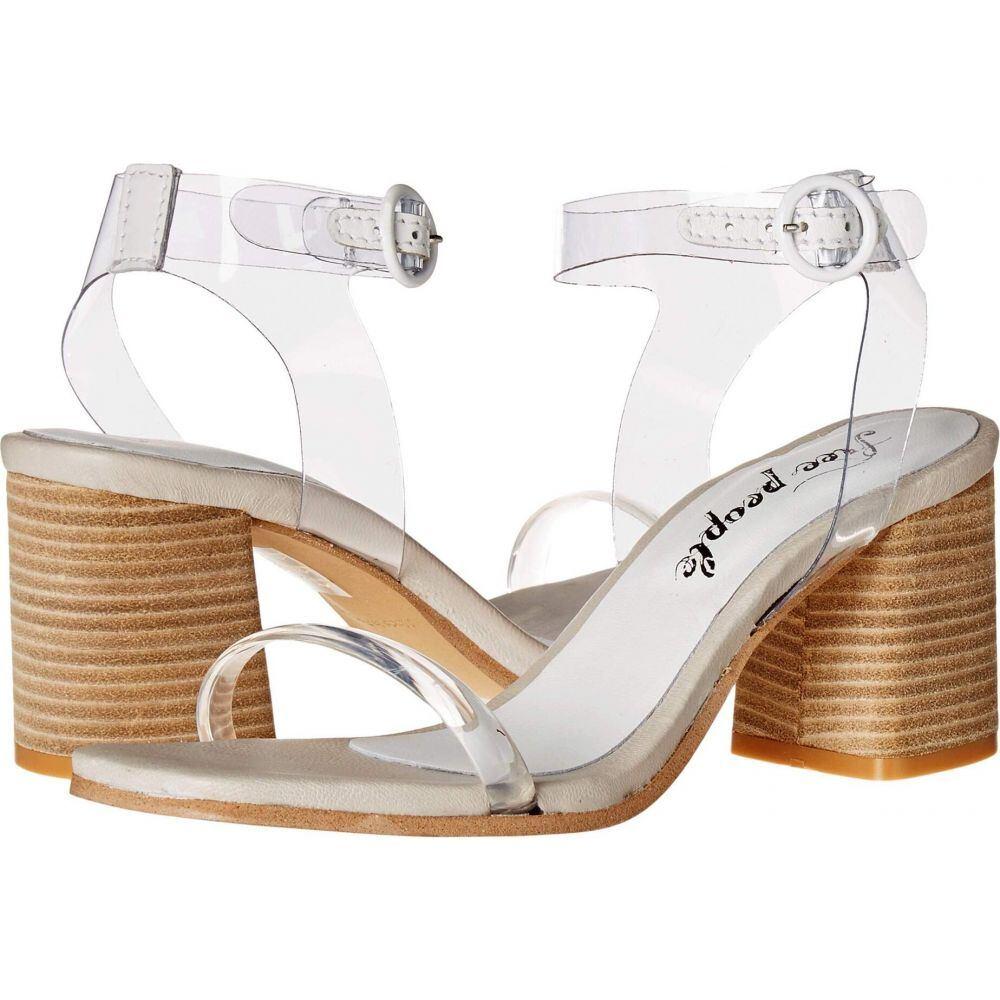 フリーピープル Free People レディース サンダル・ミュール シューズ・靴【Natal Heel】White