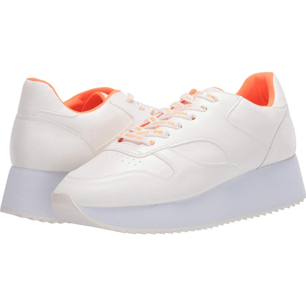 マッデン ガール Madden Girl レディース スニーカー シューズ・靴【Angeles】White Paris