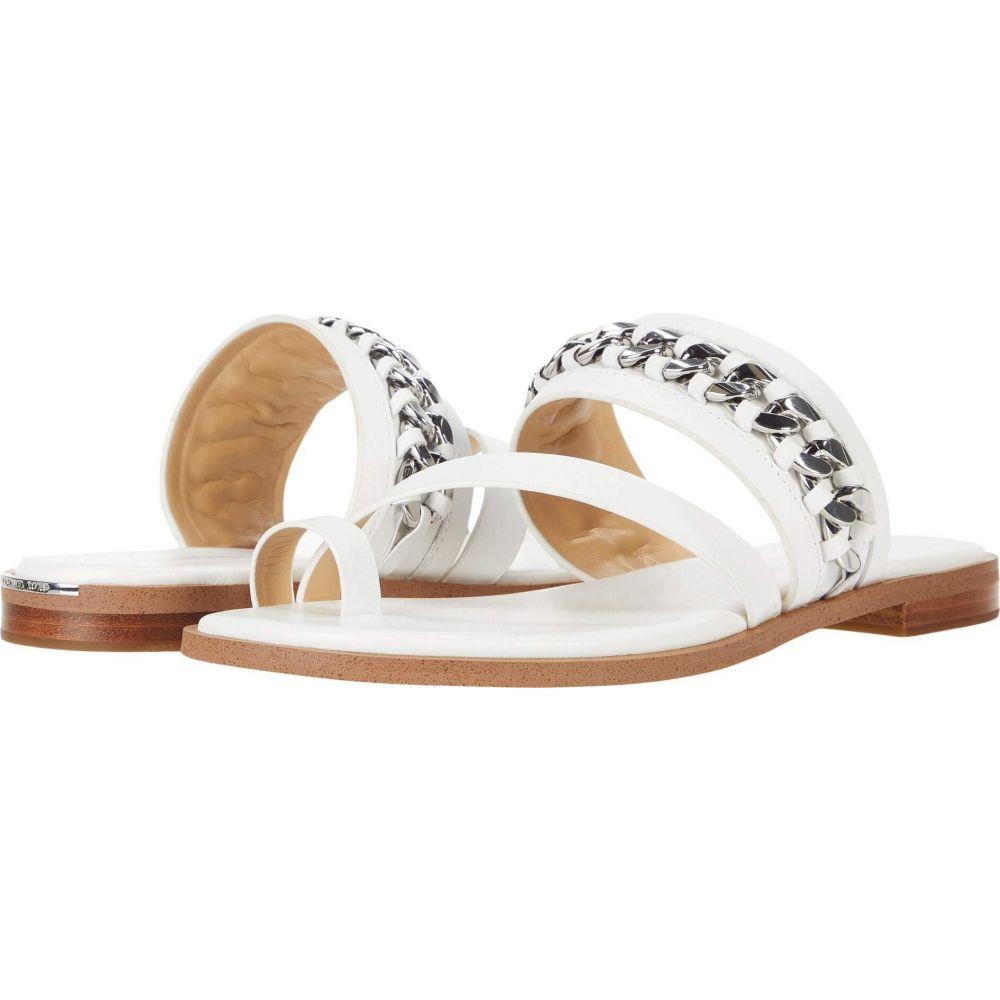 マイケル コース MICHAEL Michael Kors レディース サンダル・ミュール フラット シューズ・靴【Bergen Flat Sandal】Optic White
