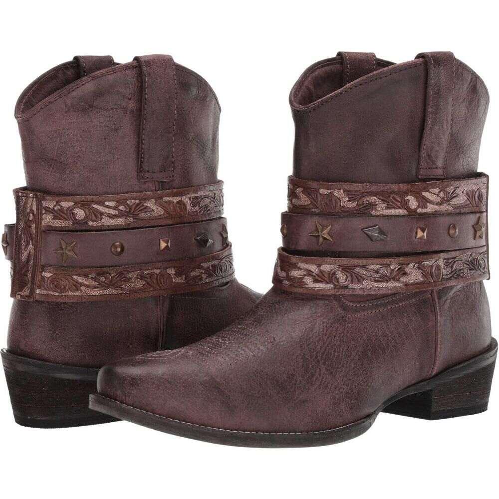 ローパー Roper レディース ブーツ シューズ・靴【Do Si Do】Brown Leather
