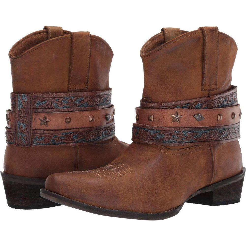ローパー Roper レディース ブーツ シューズ・靴【Do Si Do】Tan Leather