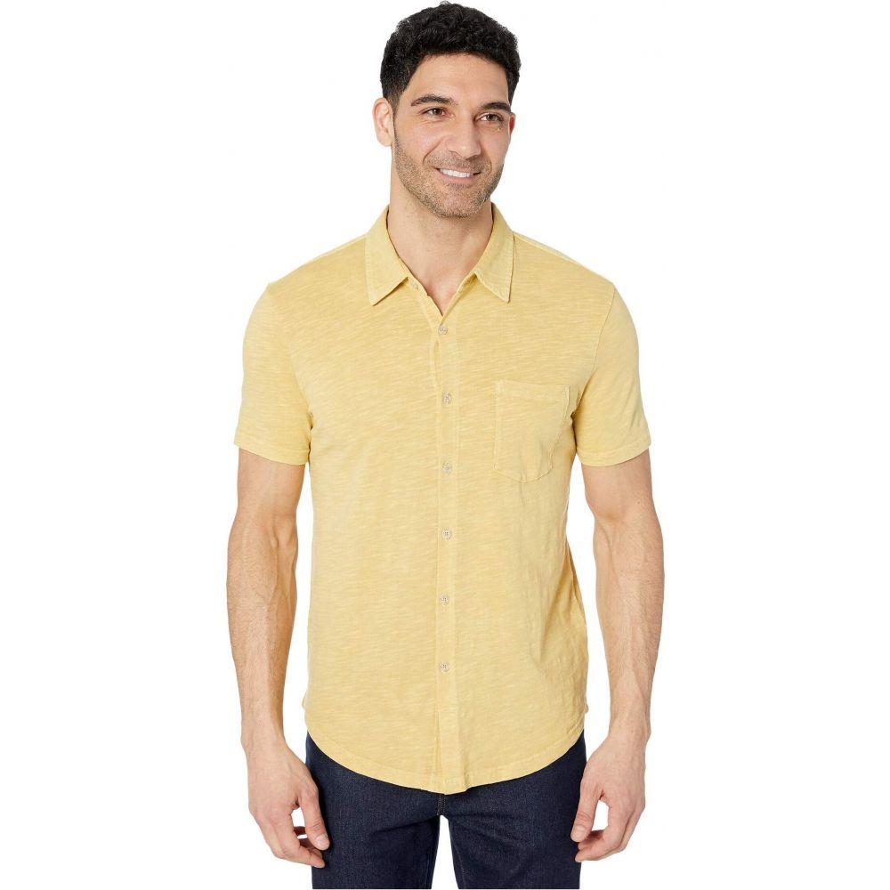 モドオードック Mod-o-doc メンズ 半袖シャツ トップス【Montana Short Sleeve Button Front Shirt】Mango