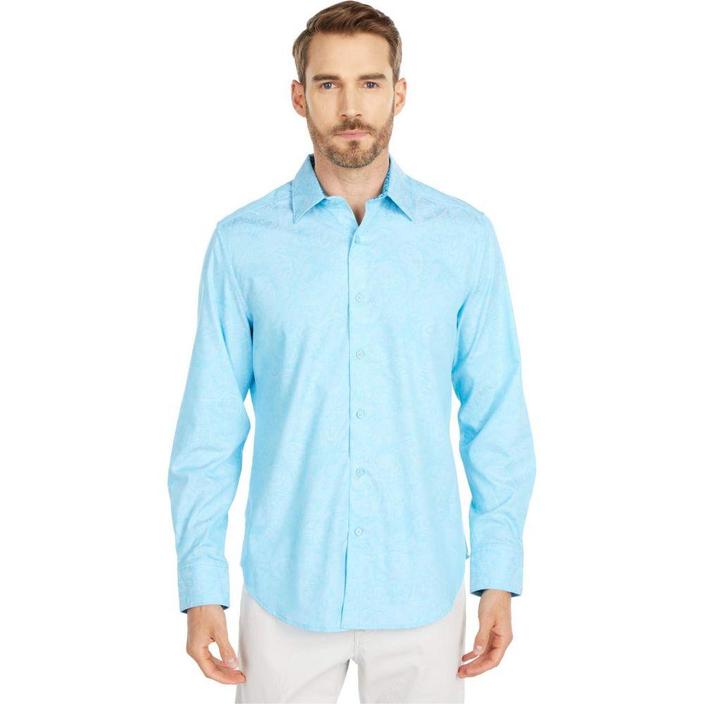 ロバートグラハム Robert Graham メンズ シャツ トップス【Andretti Button-Up Shirt】Teal