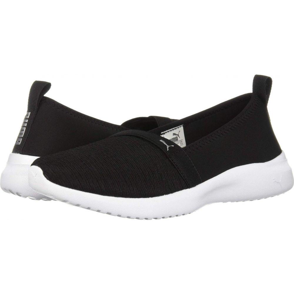 シューズ・靴【Adelina】Puma レディース スニーカー Black/Puma Silver プーマ PUMA