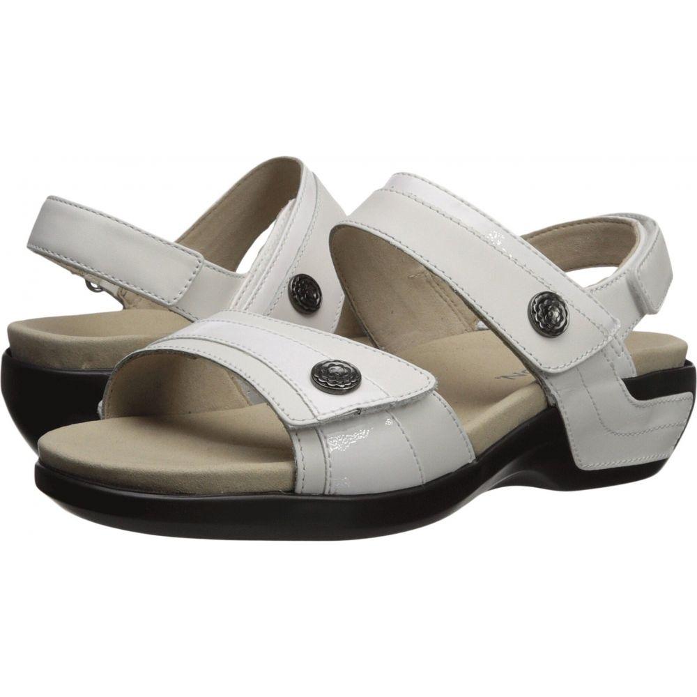アラヴォン Aravon レディース サンダル・ミュール シューズ・靴【Katherine-AR】White