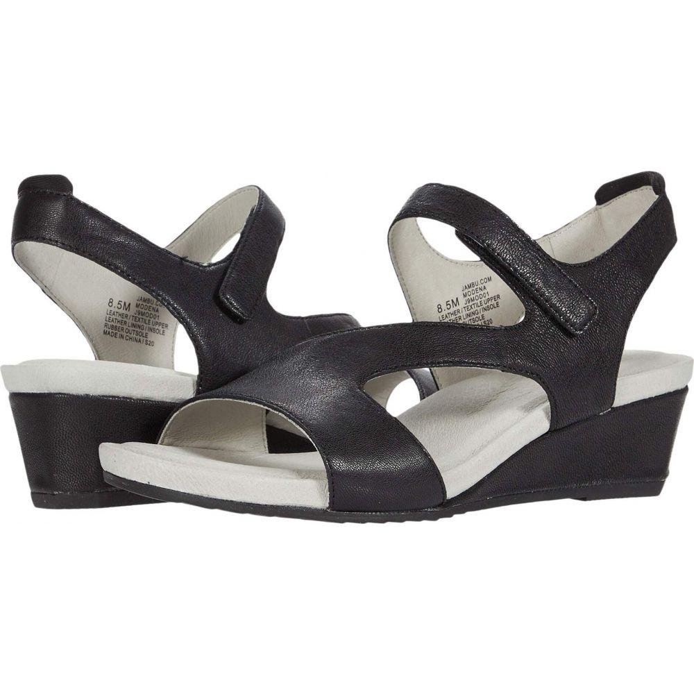 ジャンブー Jambu レディース サンダル・ミュール シューズ・靴【Modena】Black