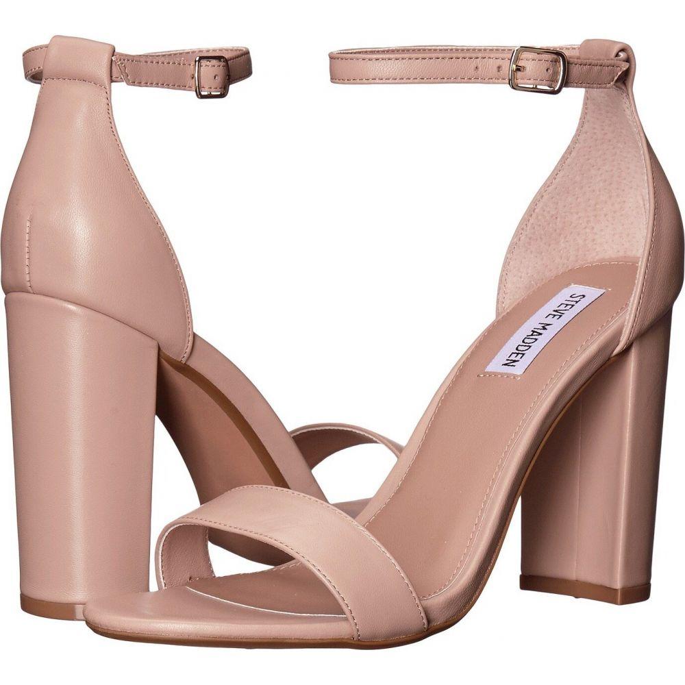 スティーブ マデン Steve Madden レディース サンダル・ミュール シューズ・靴【Carrson Heeled Sandal】Blush Leather