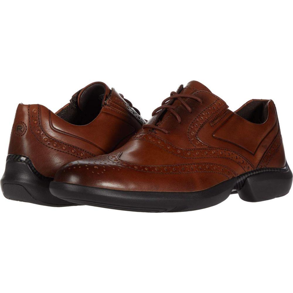 ロックポート Rockport メンズ 革靴・ビジネスシューズ ウイングチップ シューズ・靴【Total Motion Advance Wing Tip】Cognac