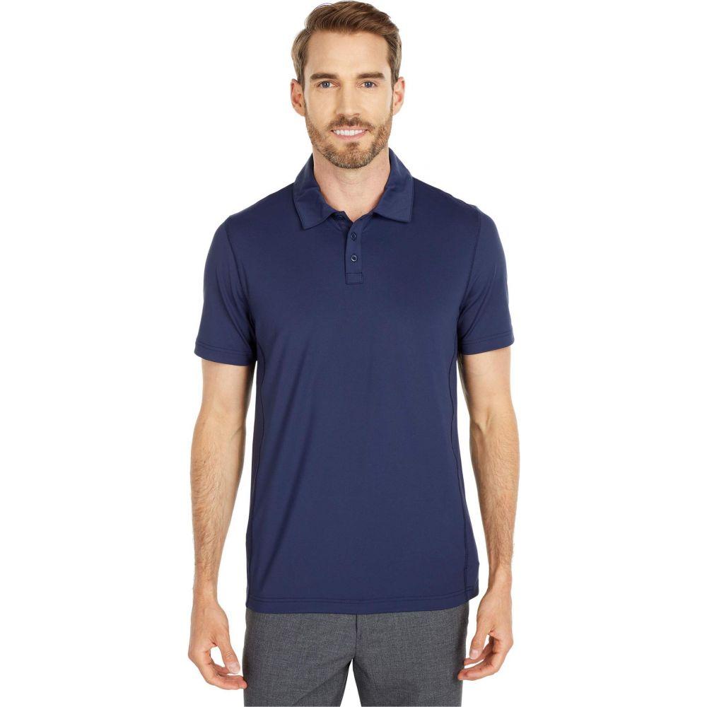 ノーマルブランド The Normal Brand メンズ ポロシャツ トップス【Cross-Back Seamed Performance Polo】Navy
