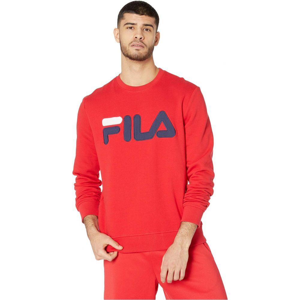 フィラ Fila メンズ スウェット・トレーナー トップス【Regola Sweatshirt】Chinese Red/Navy/White