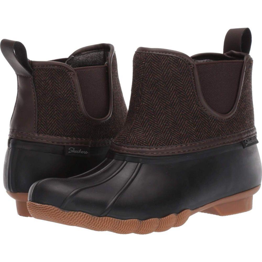 スケッチャーズ SKECHERS レディース ブーツ シューズ・靴【Pond - Staying Dry】Black/Brown