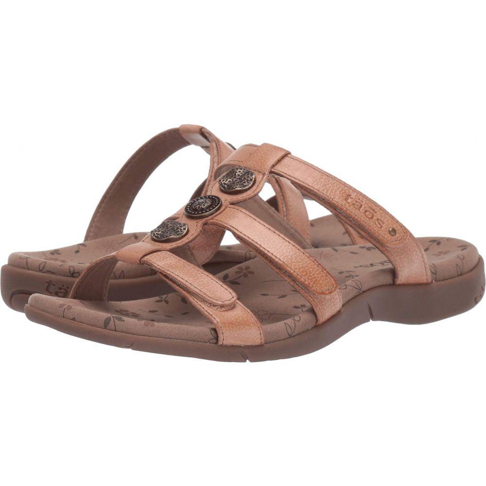 タオス Taos Footwear レディース サンダル・ミュール シューズ・靴【Prize 3】Nude