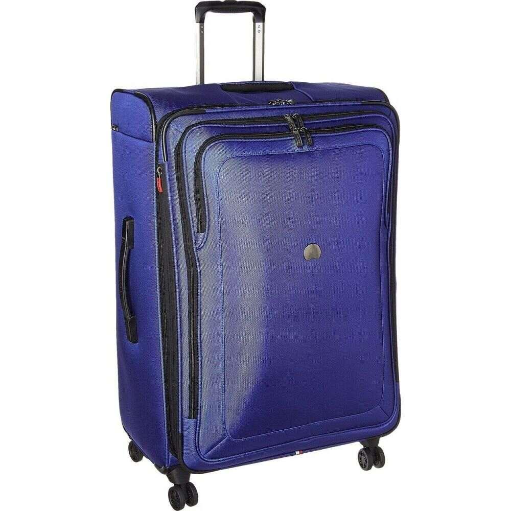 デルシー Delsey レディース スーツケース・キャリーバッグ バッグ【Cruise Lite Softside 29 Expandable Spinner Upright】Blue