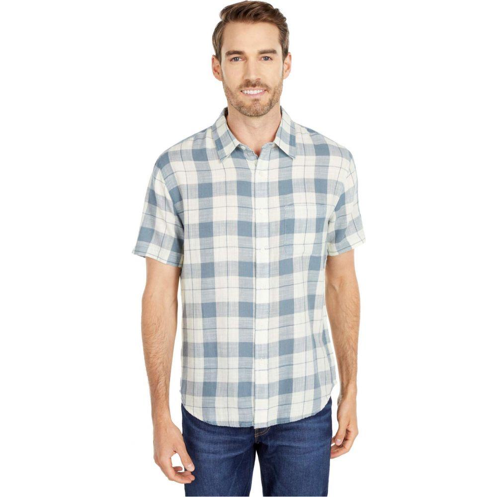 ノーマルブランド The Normal Brand メンズ シャツ トップス【Skipper Button-Down Shirt】Mineral Blue