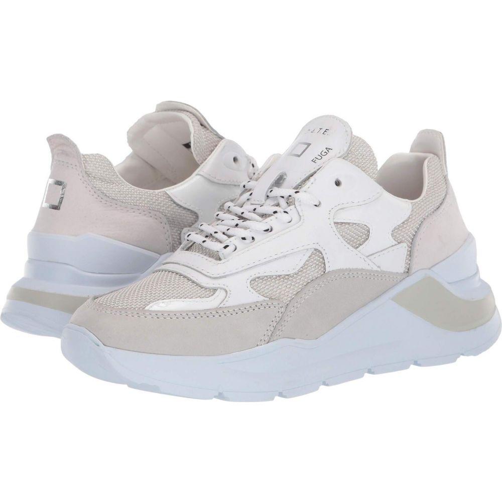 デイト D.A.T.E. レディース スニーカー シューズ・靴【Fuga】White Lurex