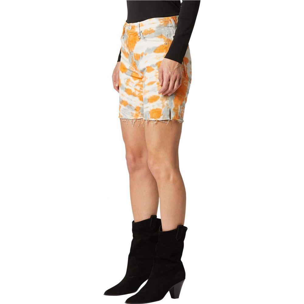 ハドソンジーンズ Hudson Jeans レディース ショートパンツ ボトムス・パンツ【Hana Mini Biker Shorts in Magnetic Tangerine】Magnetic Tangerine