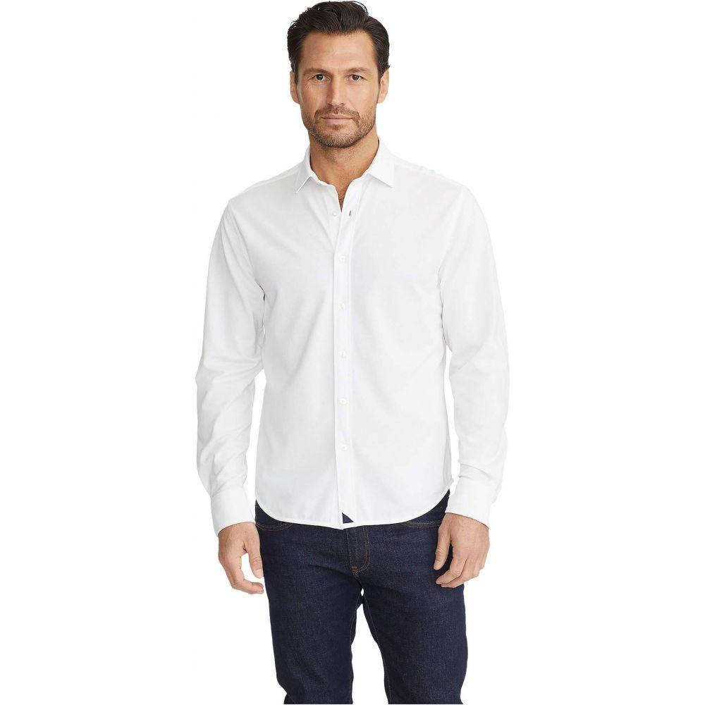 アンタックイット UNTUCKit メンズ ポロシャツ トップス【Pique Polo Button-Down】White