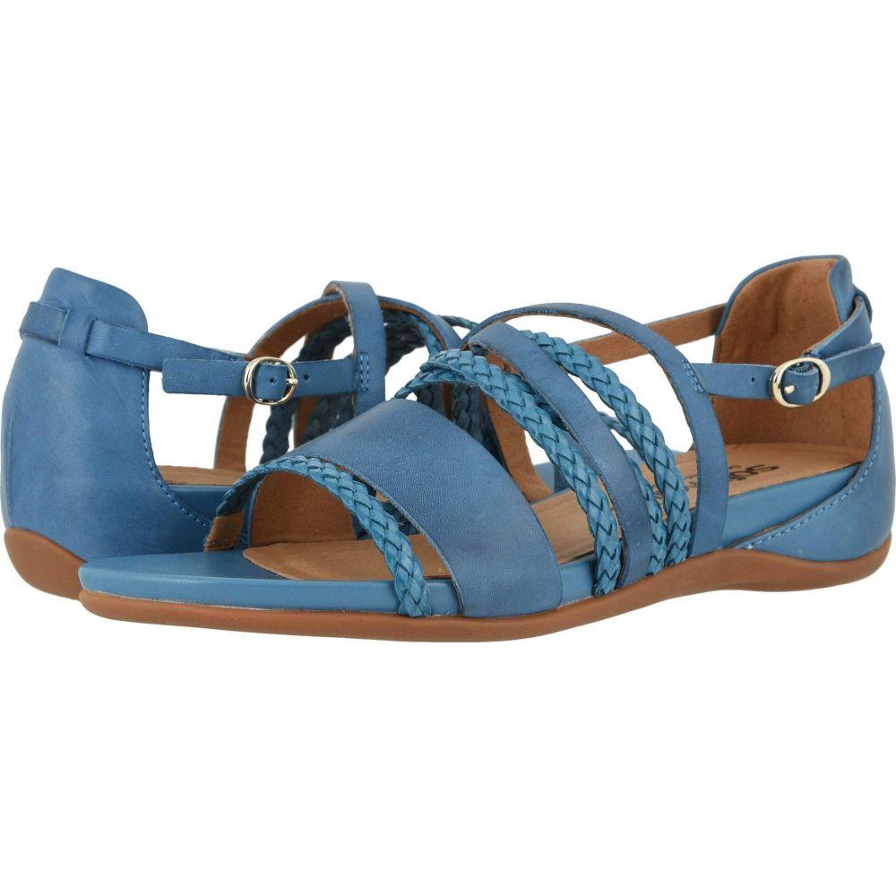 ソフトウォーク SoftWalk レディース サンダル・ミュール シューズ・靴【Tula】Blue