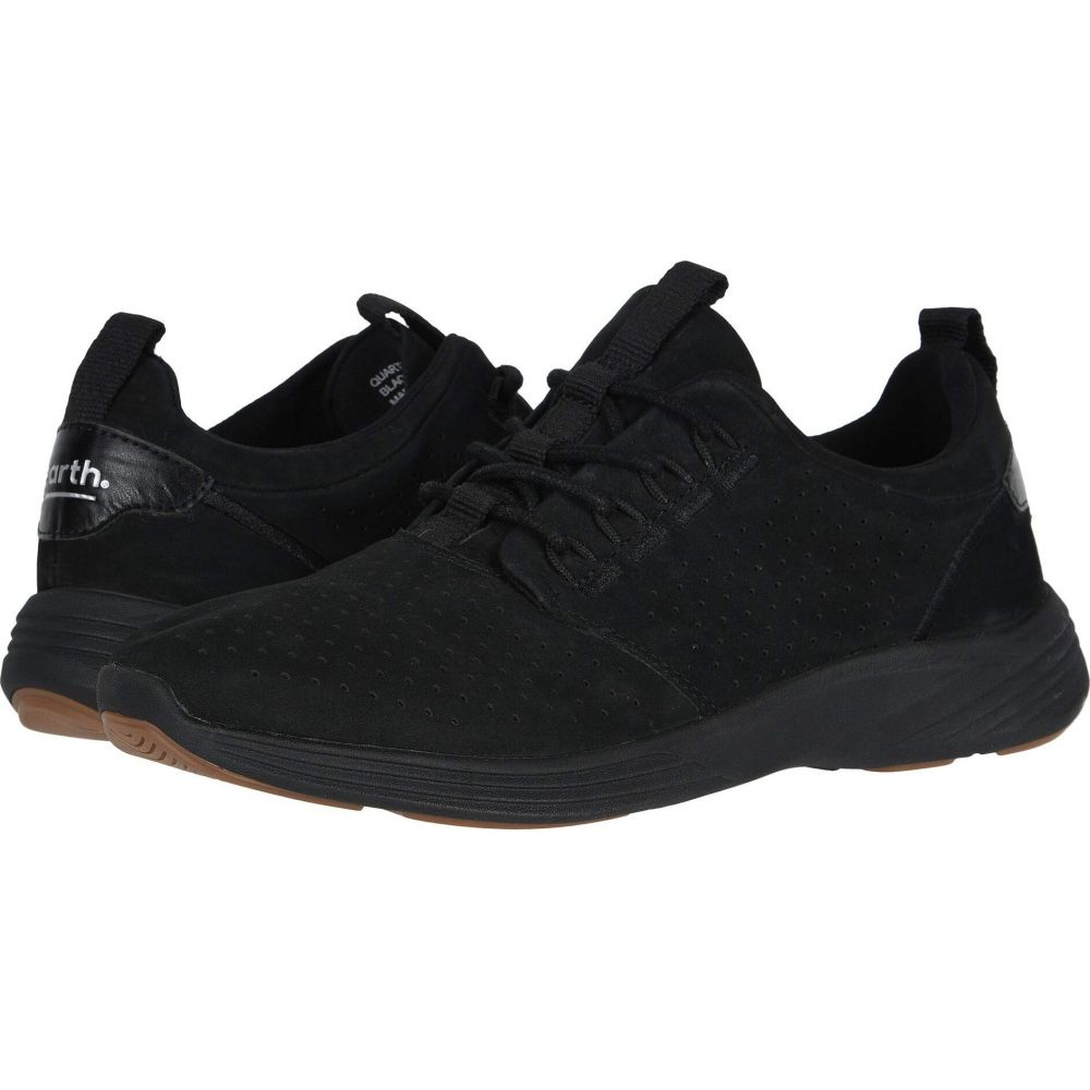 カルソーアースシューズ Earth レディース スニーカー シューズ・靴【Scenic Quartz】Black Washable Nubuck/Calf PU