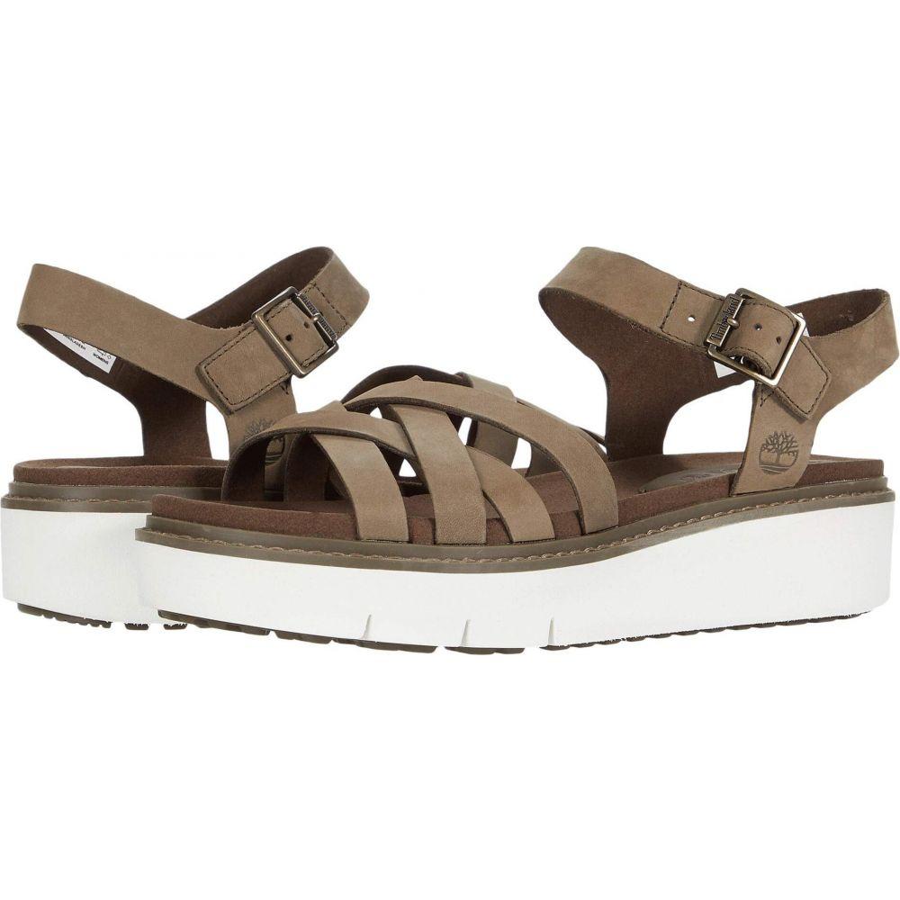 ティンバーランド Timberland レディース サンダル・ミュール シューズ・靴【Safari Dawn Multi Strap Sandal】Olive Nubuck