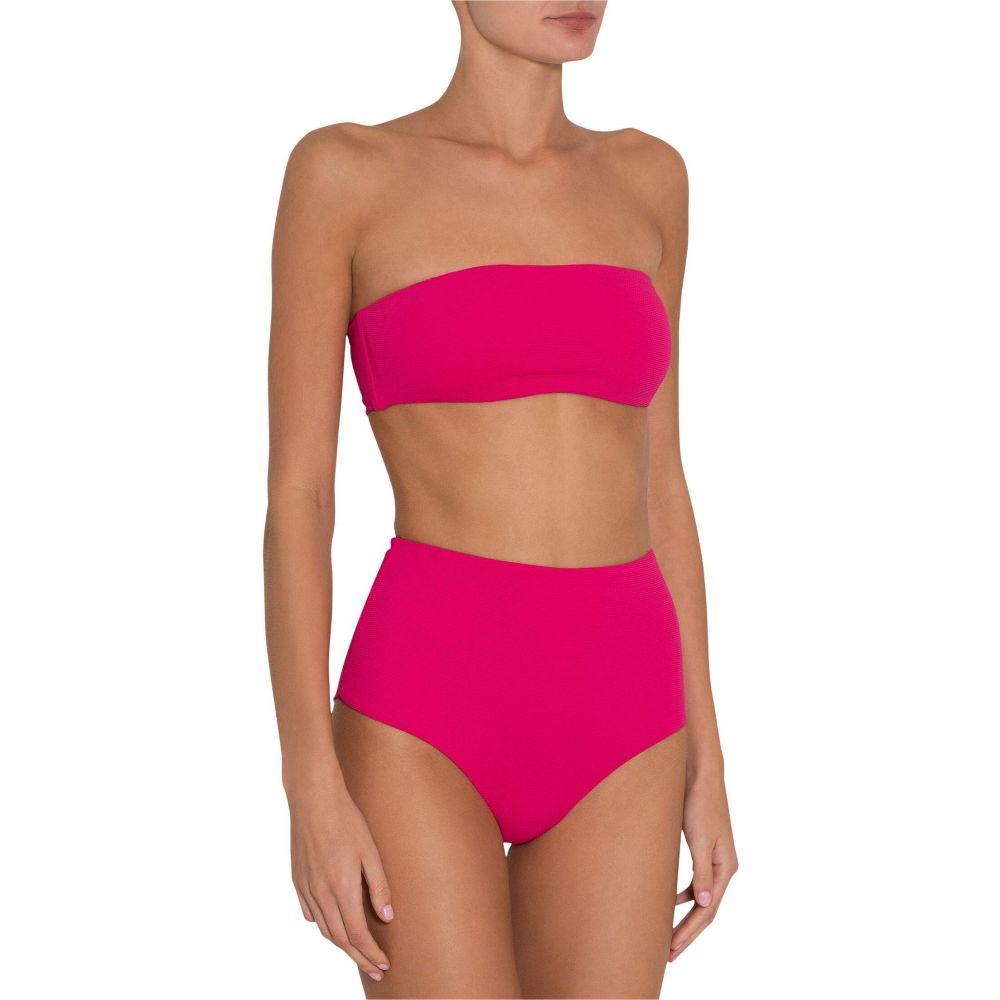 エバージェイ Eberjey レディース トップのみ 水着・ビーチウェア【Pique Summer Bikini Top】Beetroot