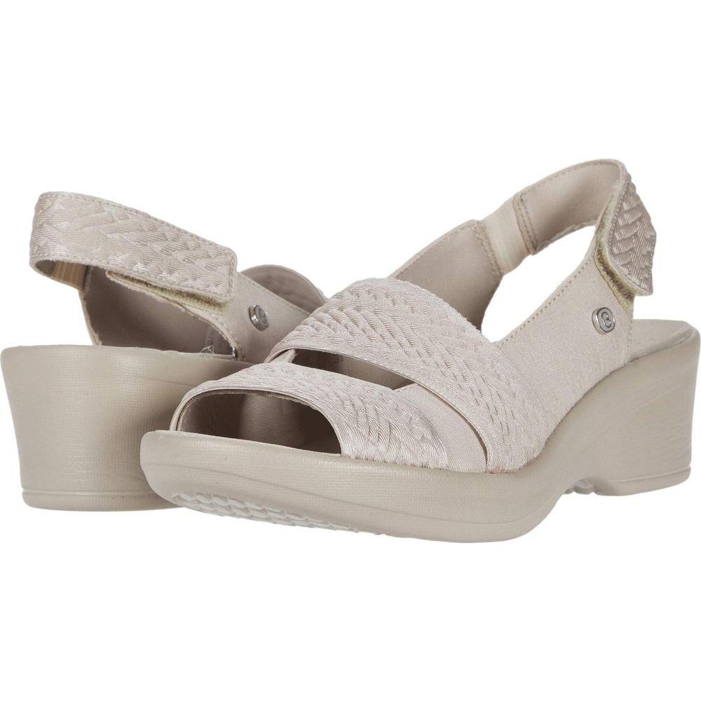 ゼィース Bzees レディース サンダル・ミュール シューズ・靴【Fiona】Sand Embossed Shimmer