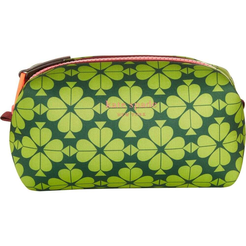 ケイト スペード Kate Spade New York レディース ポーチ 【Spade Flower Neoprene Medium Cosmetic】Lichen/Multi