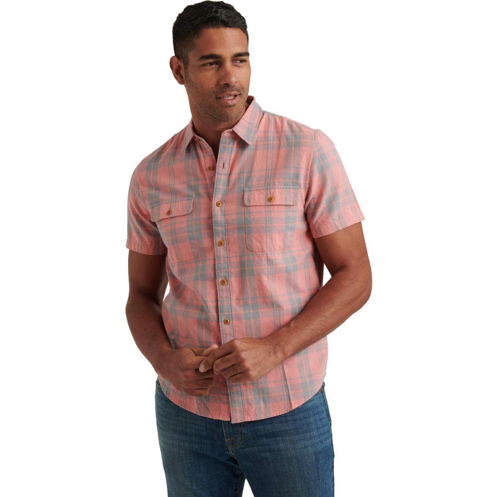 ラッキーブランド Lucky Brand メンズ 半袖シャツ トップス【Short Sleeve Humbolt Work Wear Shirt】Red Plaid