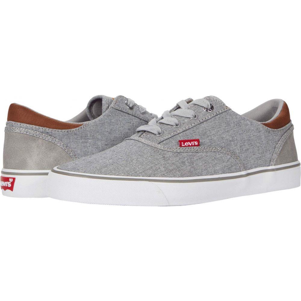 リーバイス Levi's Shoes メンズ スニーカー シューズ・靴【Ethan Chambray Wax】Grey/Tan