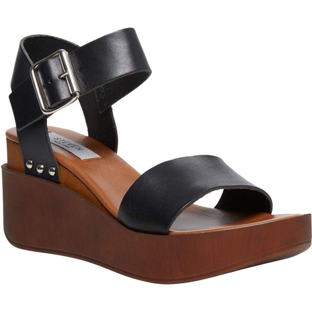 スティーブン ニューヨーク STEVEN NEW YORK レディース サンダル・ミュール シューズ・靴【Torie】Black Leather