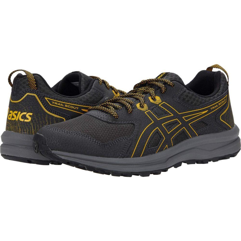 アシックス ASICS メンズ ランニング・ウォーキング シューズ・靴【Trail Scout】Graphite Grey/Saffron