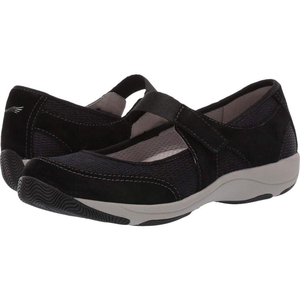 ダンスコ Dansko レディース スニーカー シューズ・靴【Hennie】Black Suede