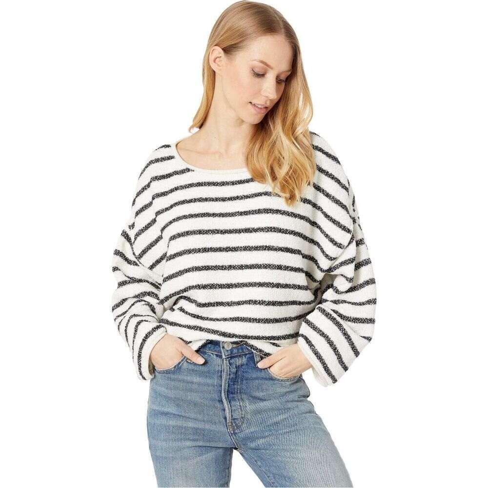 フリーピープル Free People レディース ニット・セーター トップス【Bardot Sweater】Black/White Combo