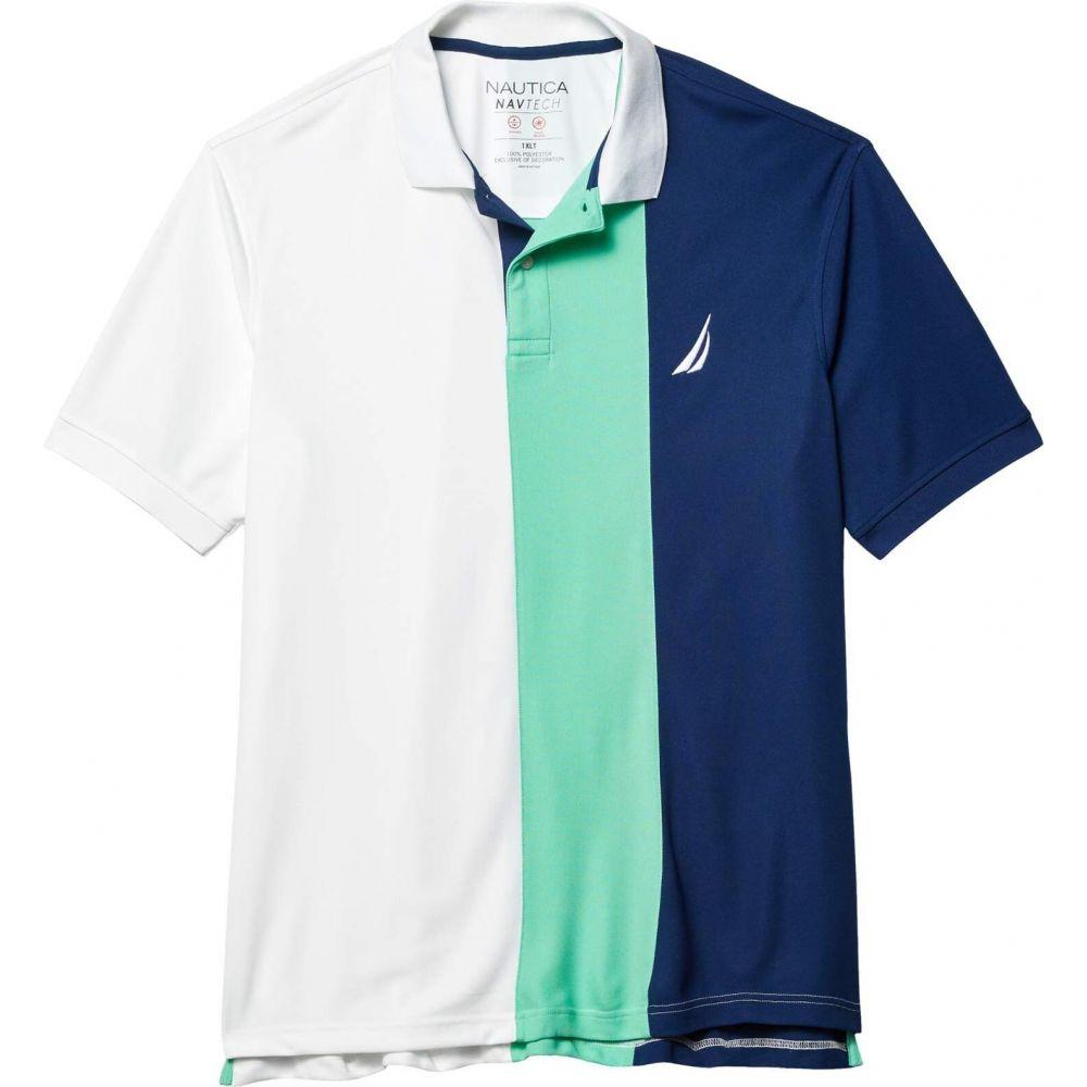 ノーティカ Nautica Big & Tall メンズ ポロシャツ 大きいサイズ トップス【Big & Tall Navtech Polo】White