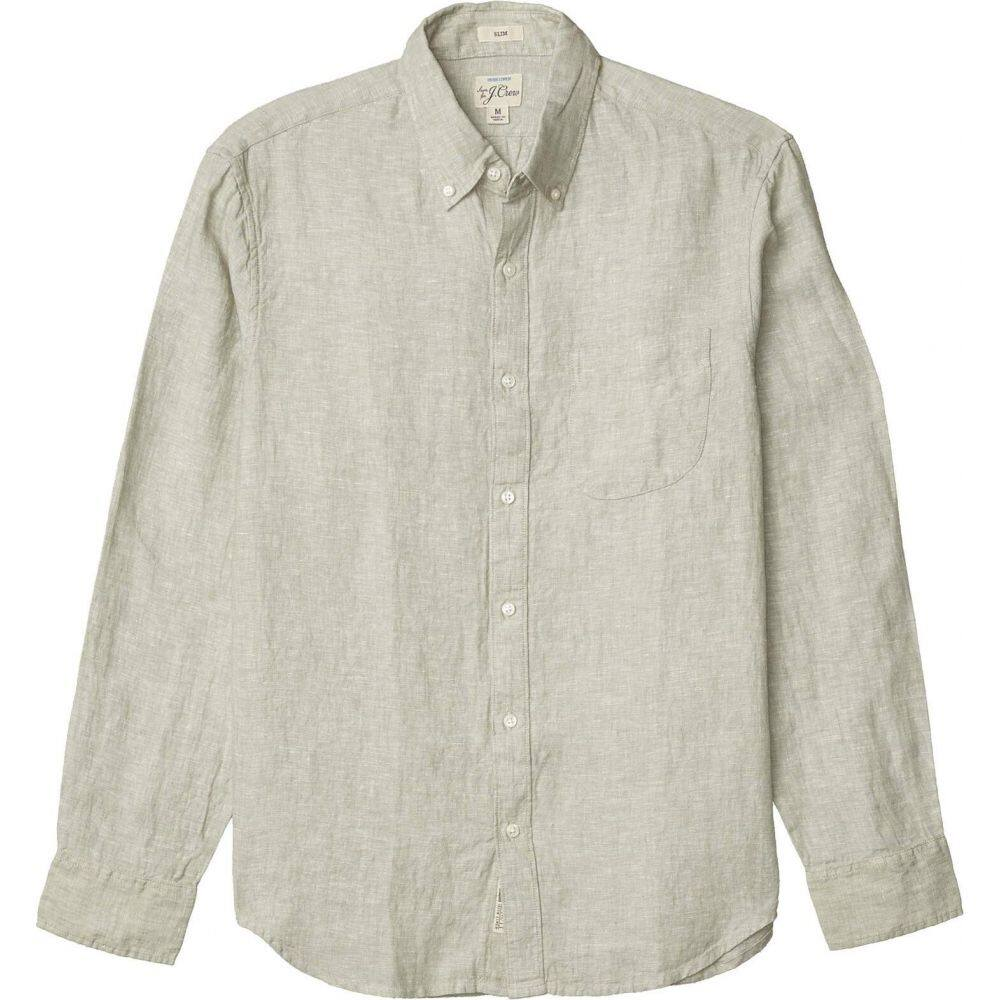 ジェイクルー J.Crew メンズ シャツ トップス【Slim Baird Mcnutt Irish Linen Shirt】Minty Green