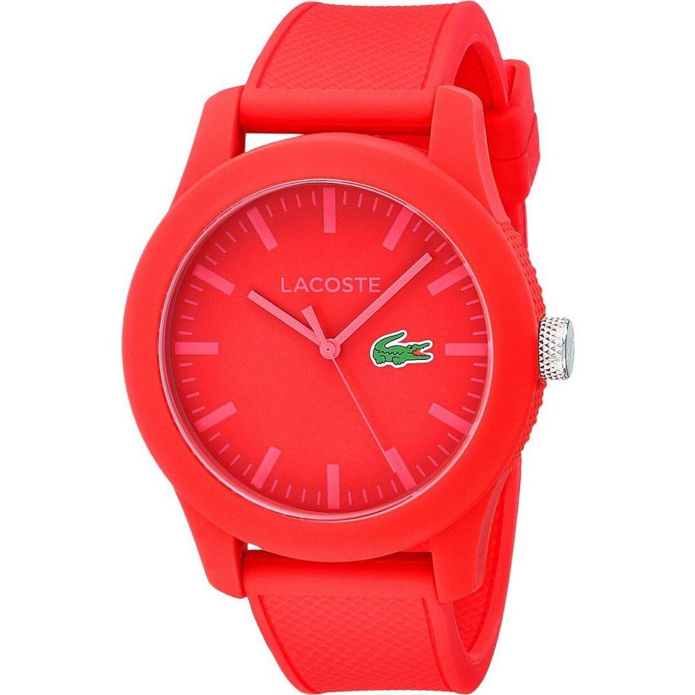ラコステ Lacoste ユニセックス 腕時計 【2010764-12.12】Red/Red