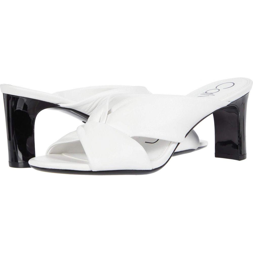 カルバンクライン Calvin Klein レディース サンダル・ミュール シューズ・靴【Omarion】White