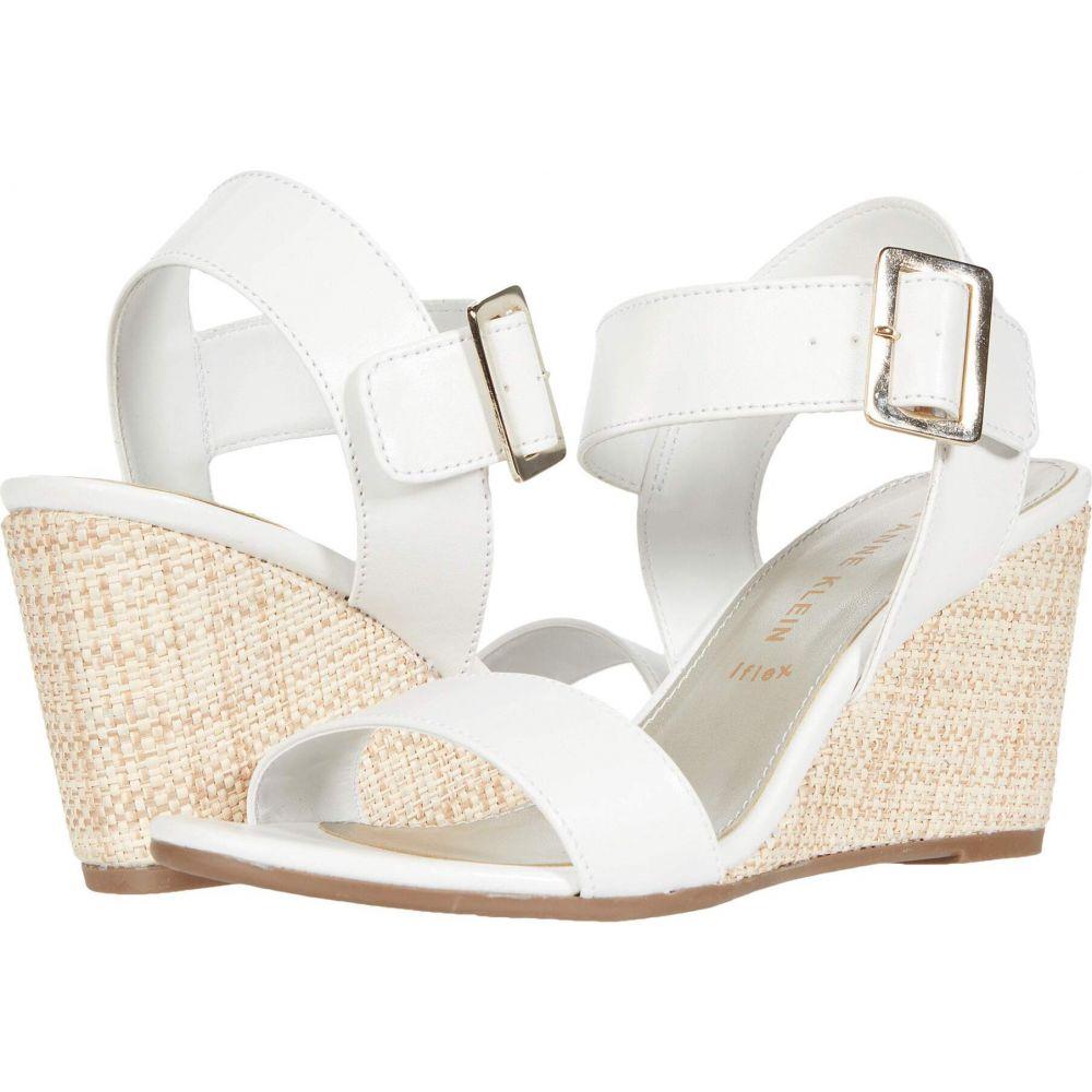 アン クライン Anne Klein レディース サンダル・ミュール シューズ・靴【Hibiscus】White