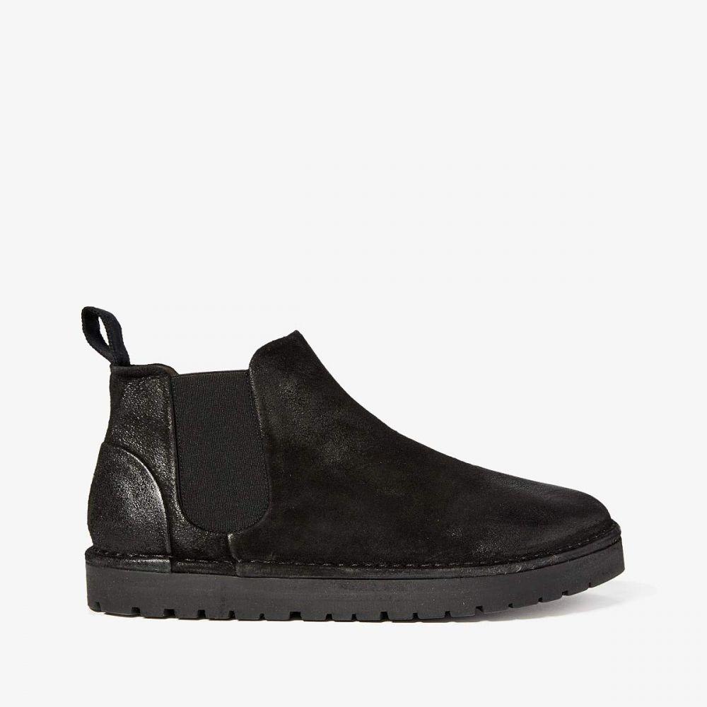 マルセル Marsell メンズ ブーツ チェルシーブーツ シューズ・靴【Gomme Sancrispa Alta Chelsea Boot】Black