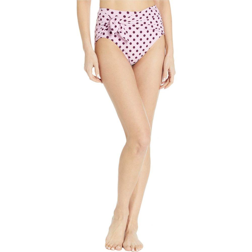 ケイト スペード Kate Spade New York レディース ボトムのみ 水着・ビーチウェア【Lia Dot Tie High-Waist Bikini Bottoms】Winter Pink