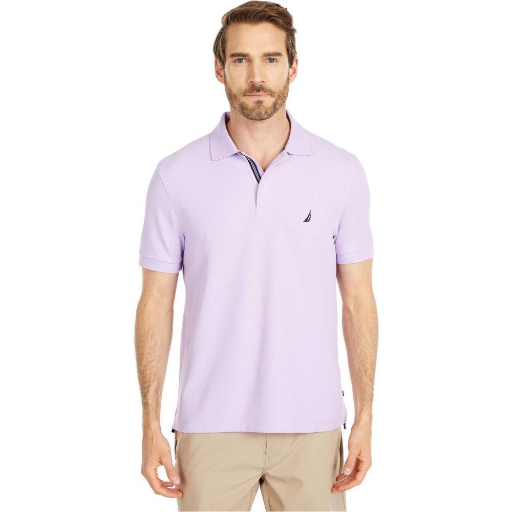 ノーティカ Nautica メンズ ポロシャツ トップス【Solid Pique Polo】Purple