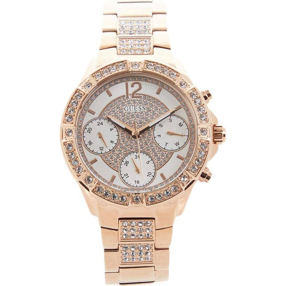 ゲス GUESS レディース 腕時計 【U1071L3M】Gold