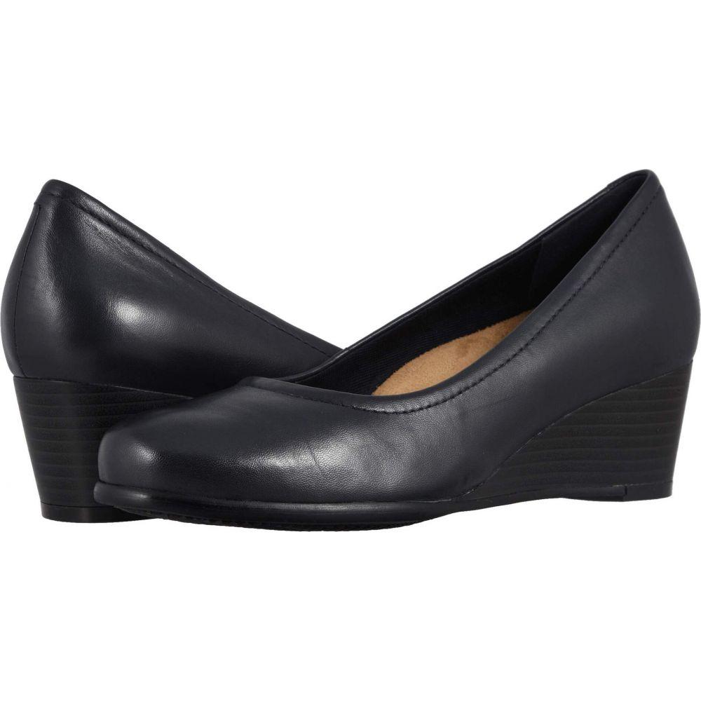 トロッターズ Trotters レディース ヒール シューズ・靴【Winnie】Navy Leather