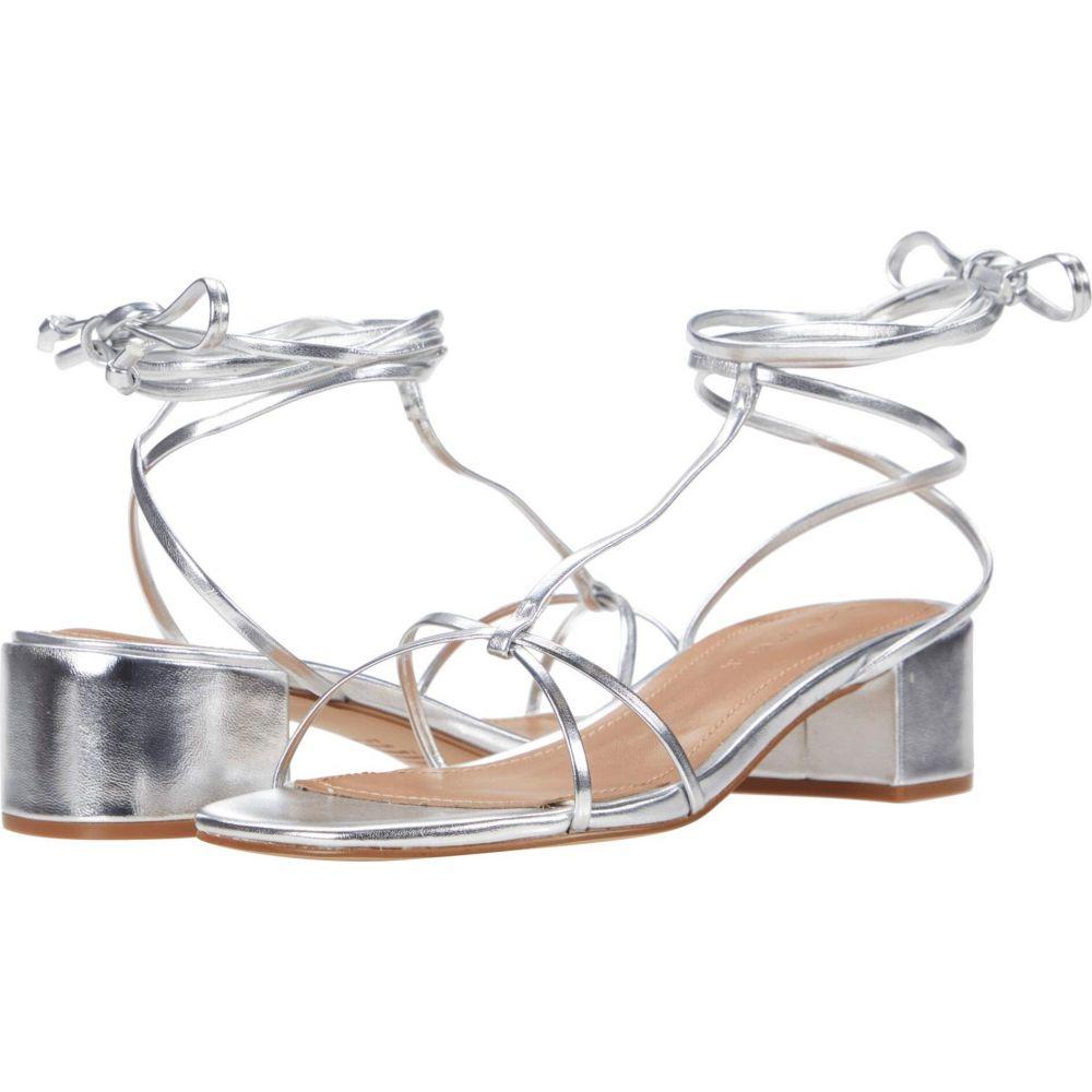 フー ワット ウェアー Who What Wear レディース サンダル・ミュール シューズ・靴【Genesis】Silver