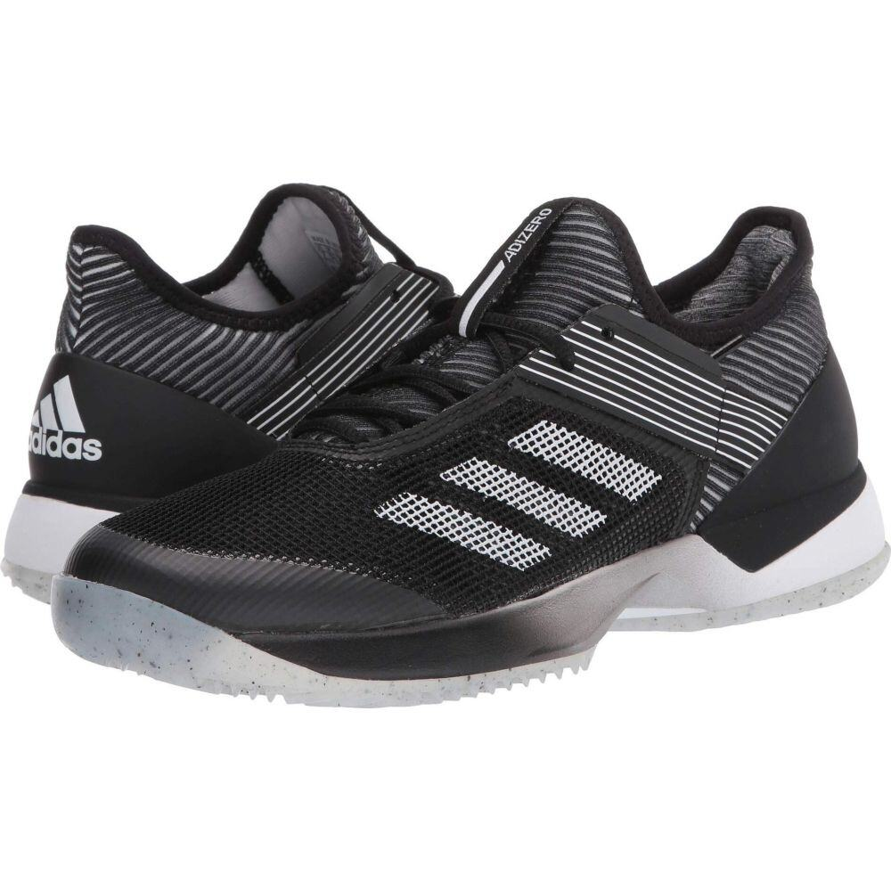 アディダス adidas レディース スニーカー シューズ・靴【Adizero Ubersonic 3 Clay】Core Black/Footwear White/Core Black