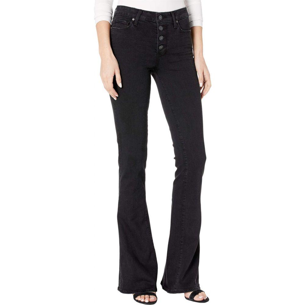 ペイジ Paige レディース ジーンズ・デニム ボトムス・パンツ【High-Rise Lou Lou w/ Exposed Buttonfly Jeans in Black Sundown】Black Sundown