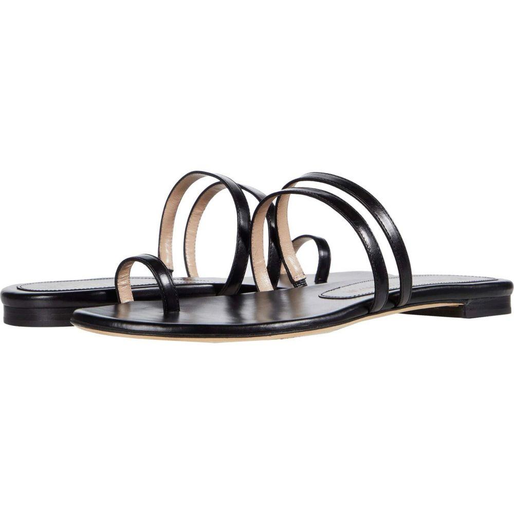 スチュアート ワイツマン Stuart Weitzman レディース サンダル・ミュール シューズ・靴【Leonita Slide】Black Smooth Calf