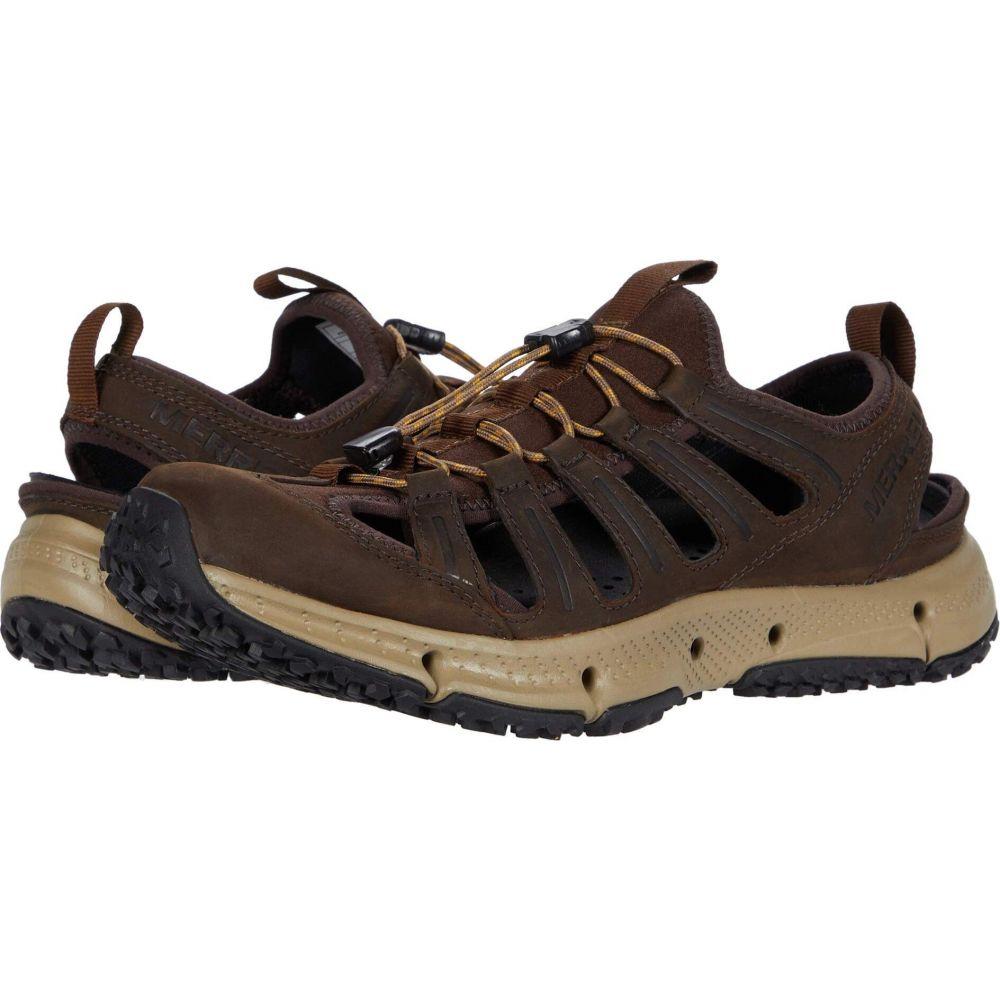 メレル Merrell メンズ シューズ・靴 【Hydrotrekker Leather Sieve】Seal Brown