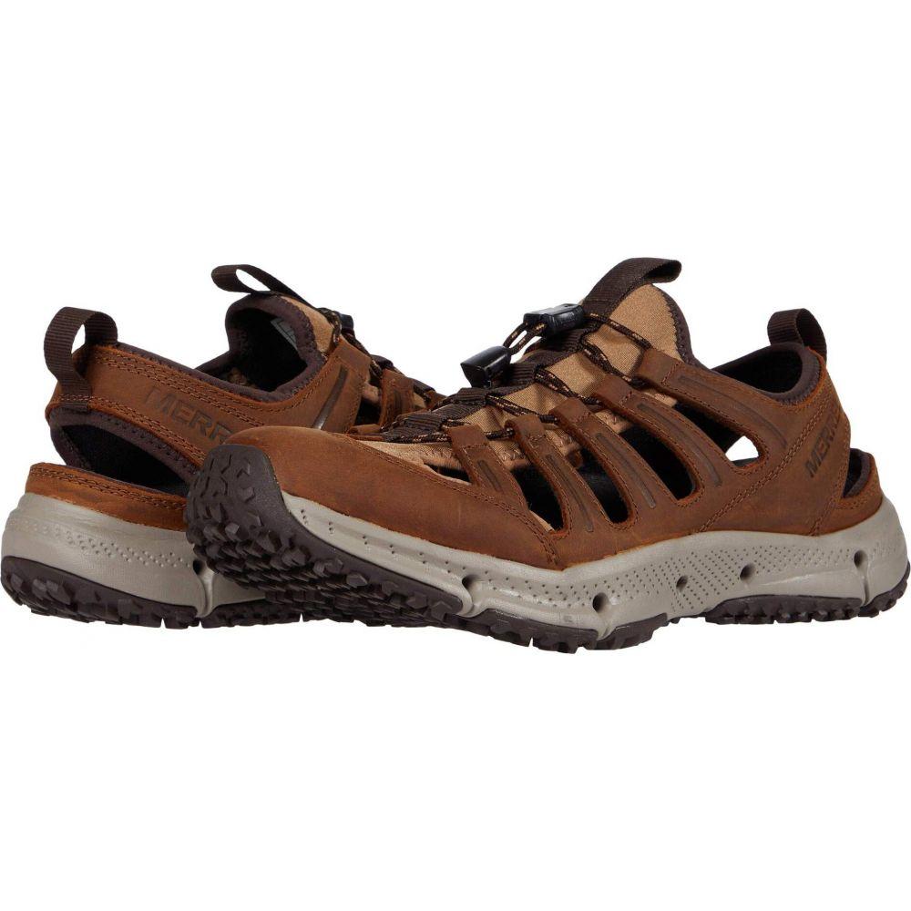 メレル Merrell レディース サンダル・ミュール シューズ・靴【Hydrotrekker Leather Sieve】Merrell Tan